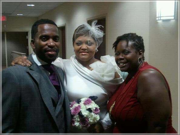 Craig Davis HIV Pastor with Wife Jannalyn on Wedding Day The Trent