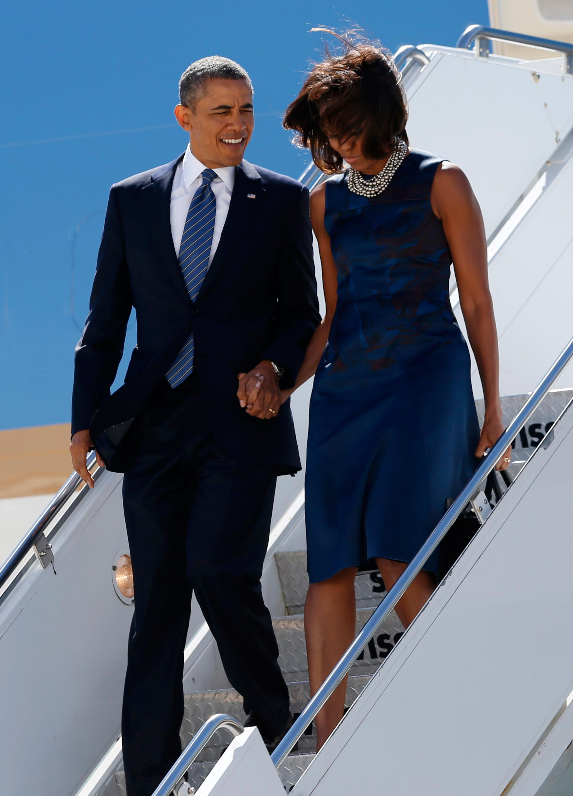 are the obamas headed for a divorce new report claims