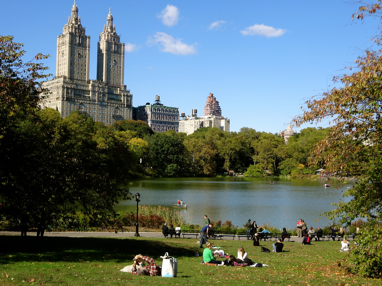 A view of the San Remo Apartments, the building where Robert Wilson lived seen here from Central Park, New York