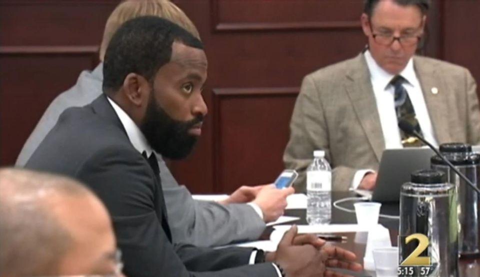 Craig Davis Pictured in Court