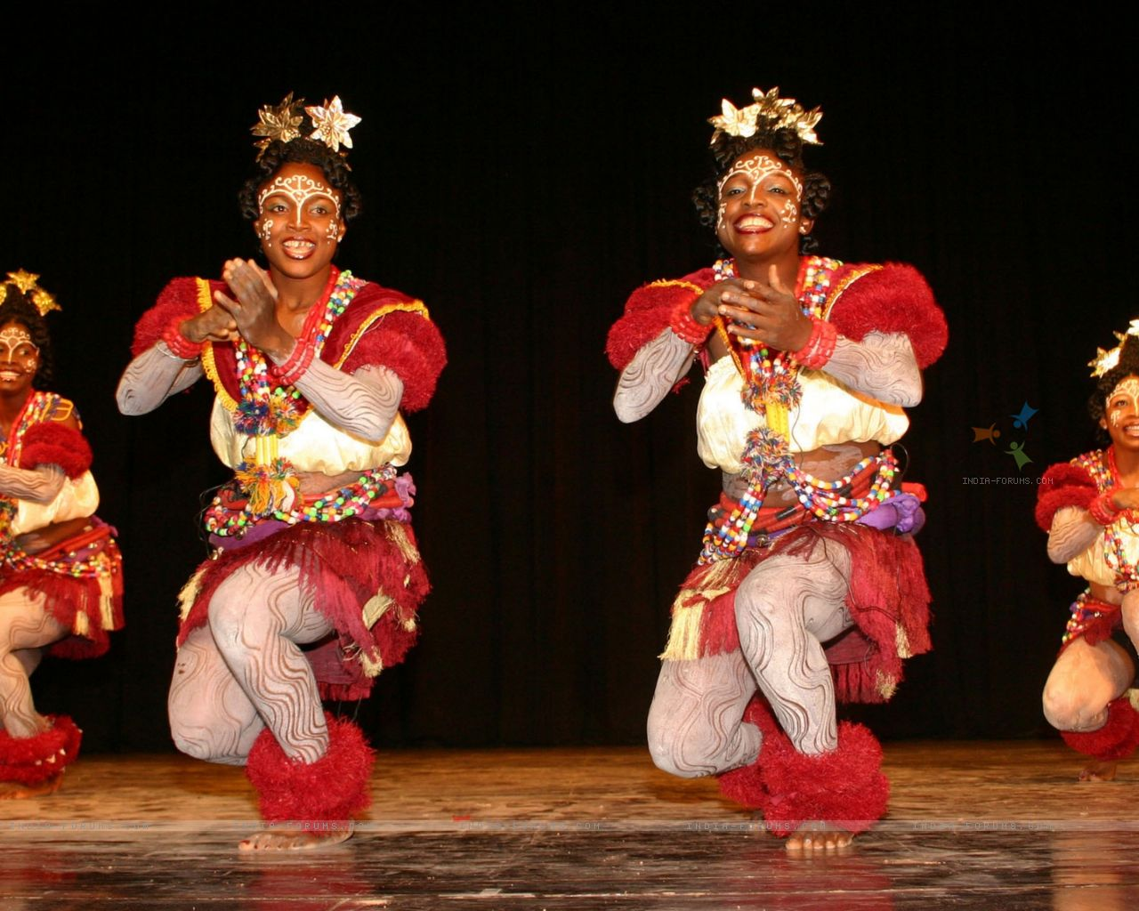 Performance by dance and music group from Nigeria during the Africa Festival in New Delhi on Wednesday