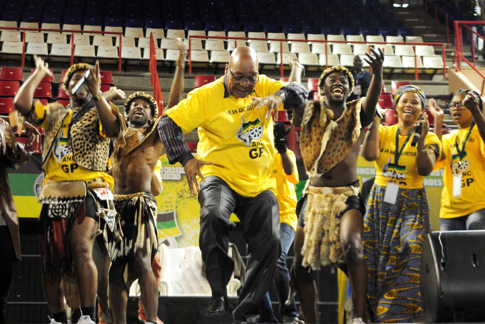 President Jacob Zuma at a campaign rally (Photo Credit: Citizen.co.za)