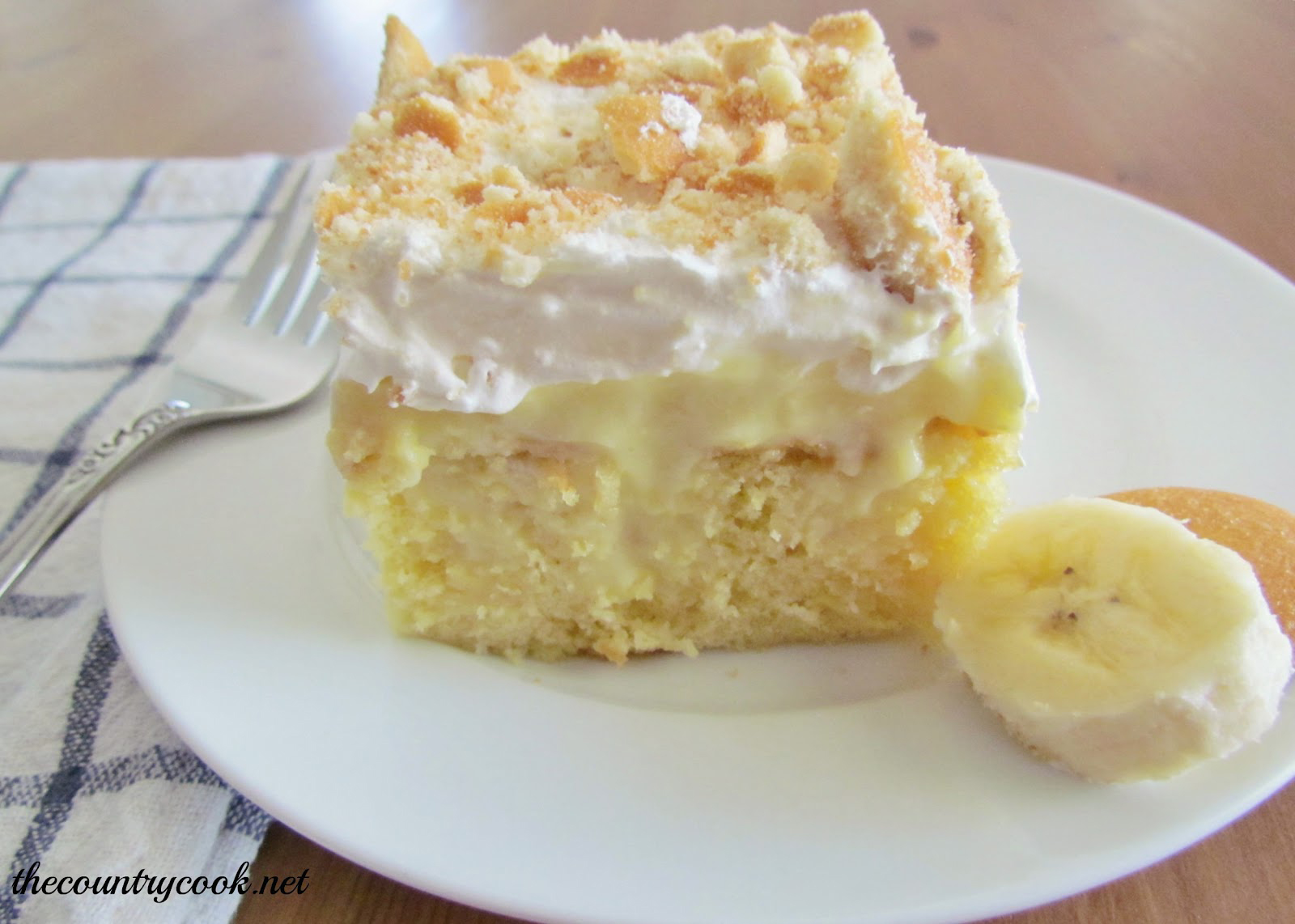 Square Angel Food Cake