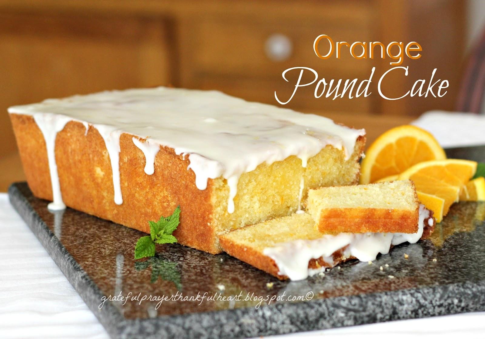 Barefoot Contessa Orange Pound Cake