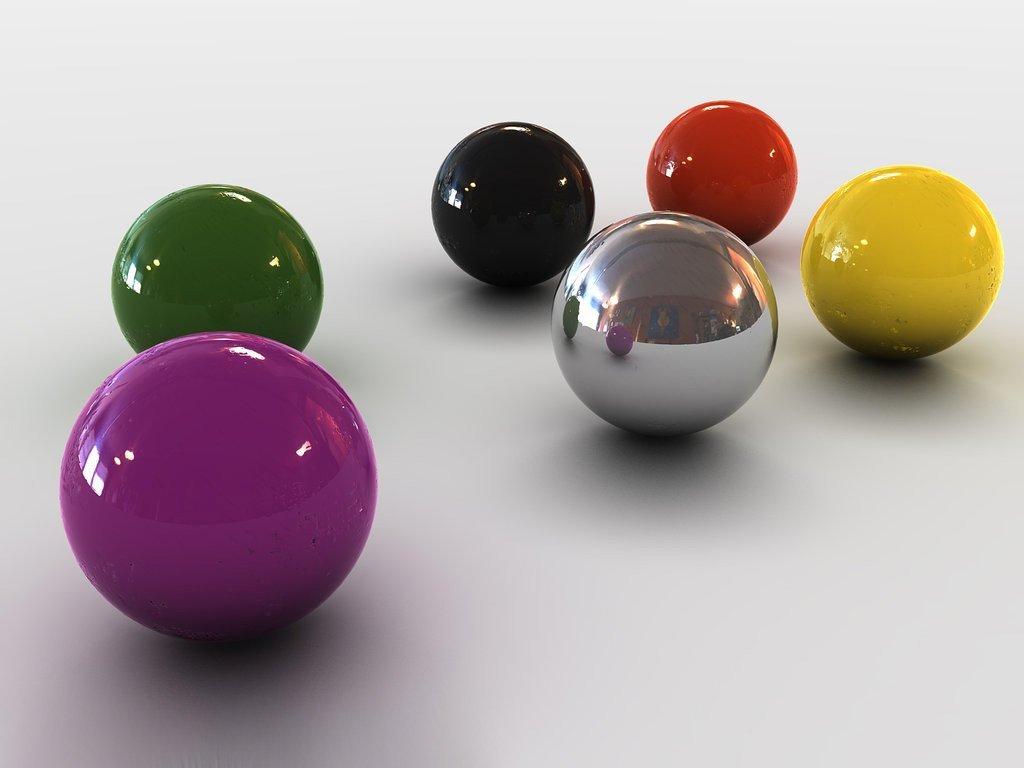 3d Balls Colourful Hd Wallpaper Wallpapers Latest