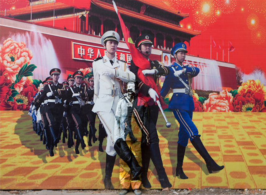 Photos Courtesy of  Liu Bolin Art Studio and Eli Klein Fine Art