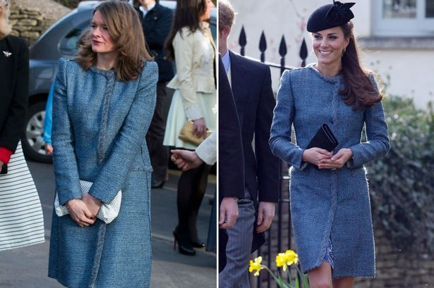 FashionDouble: Kate Middleton Shows Up At Wedding With Same Dress