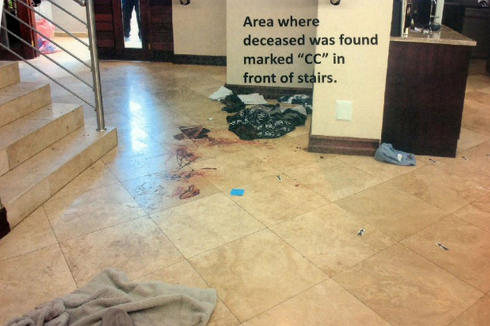 Shocking Photos Emerge Oscar Pistorious Crime Scene Graphic Images on oscar pistorius evidence