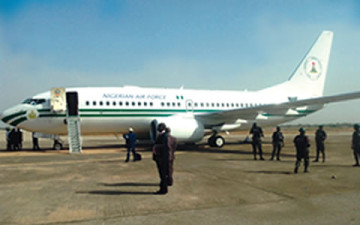 president-jonathan-s-presidential-jet-malfunctions-before-take-off-in-minna