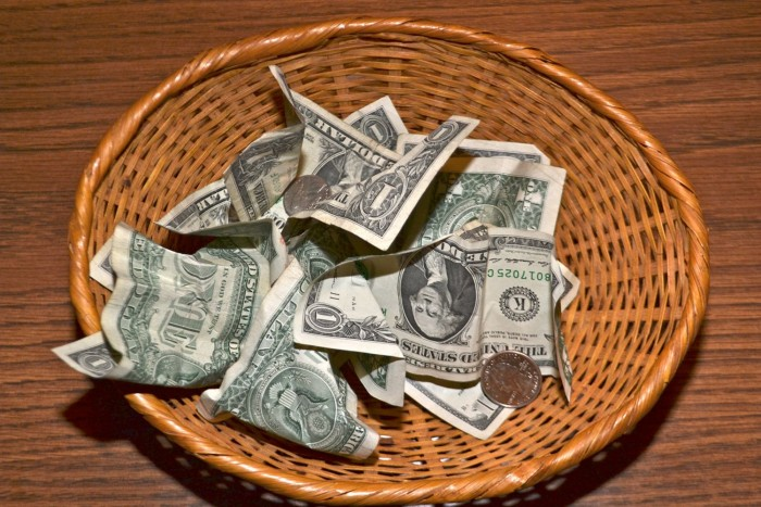 church tithe offering