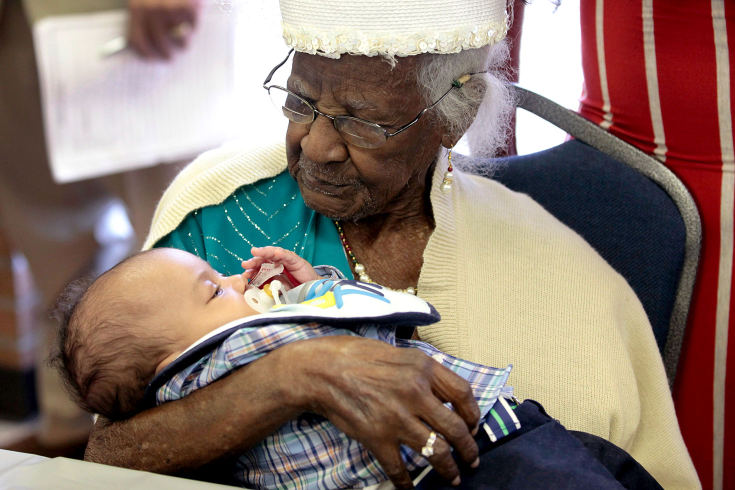 Oldest Woman In The Us 2nd Oldest In The World Celebrates