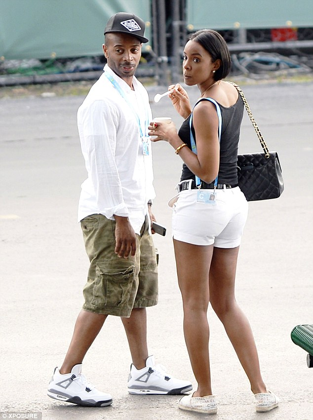 Kelly Rowland and husband