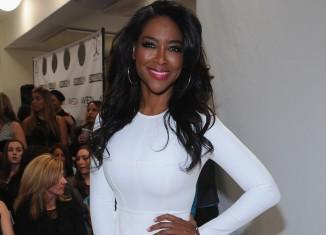 Kenya Moore, former beauty queen and reality TV star OGE OKOYE