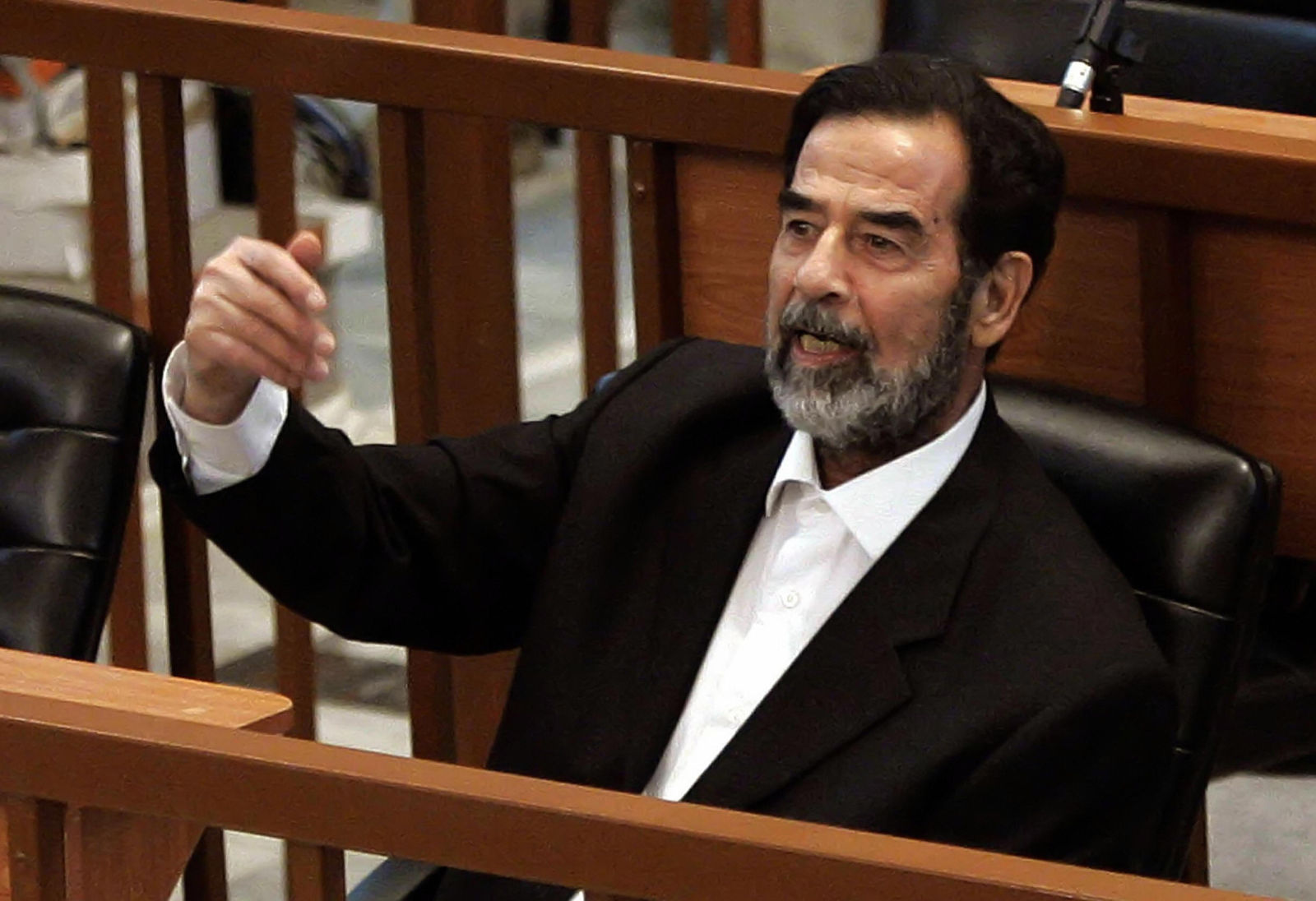 Judge Who Sentenced Saddam Hussein To Death Captured And ... Saddam Hussein