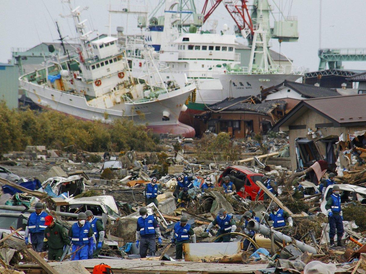 6.8 Magnitude Earthquake Hits Japan - The Trent