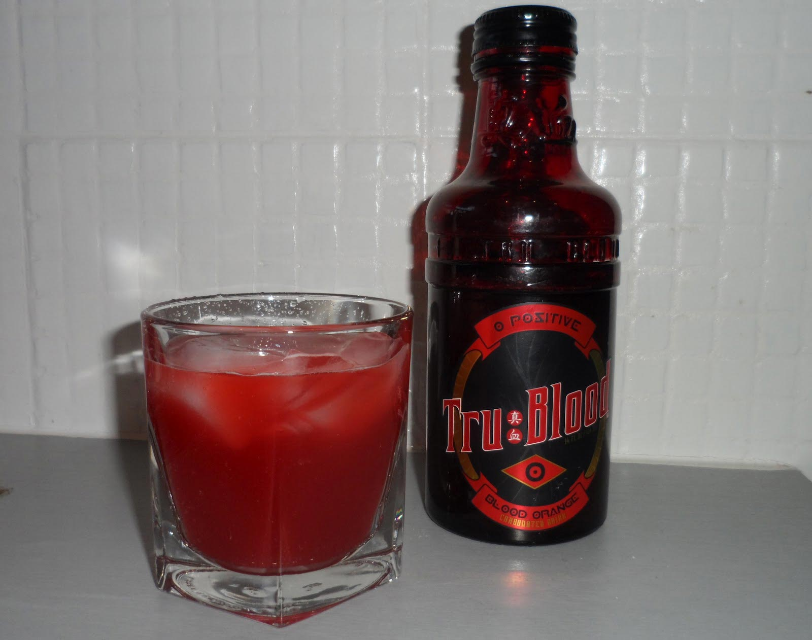 Red And Orange Alcoholic Drink