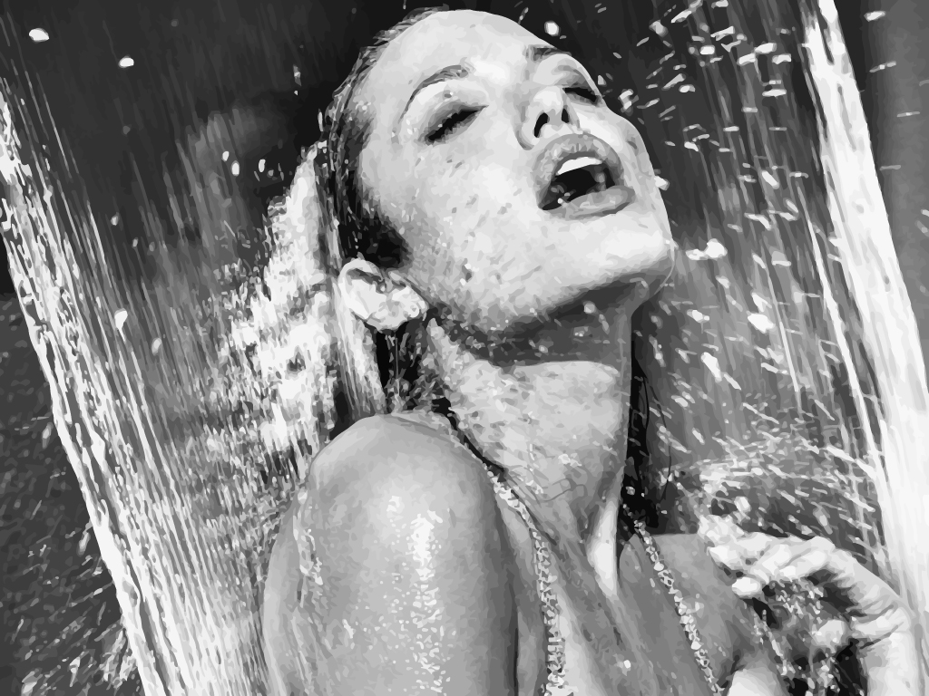 Angelina Jolie Naked In The Shower 3