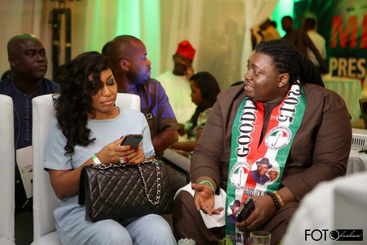 PVC Event Lagos Goodluck Jonathan PDP Rita Dominic