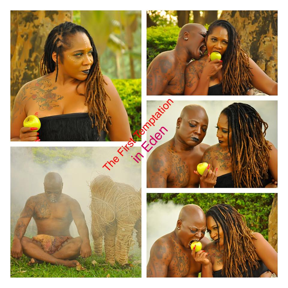 Charlie Boy And Wife's Romantic Adam And Eve Photos Will ...