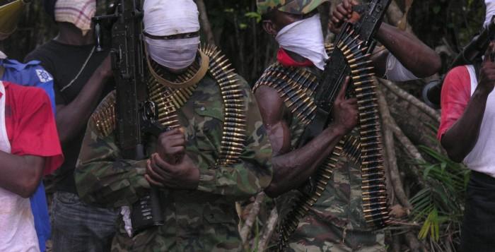 oil blocs Niger Delta Avengers Nigeria Troops MEND