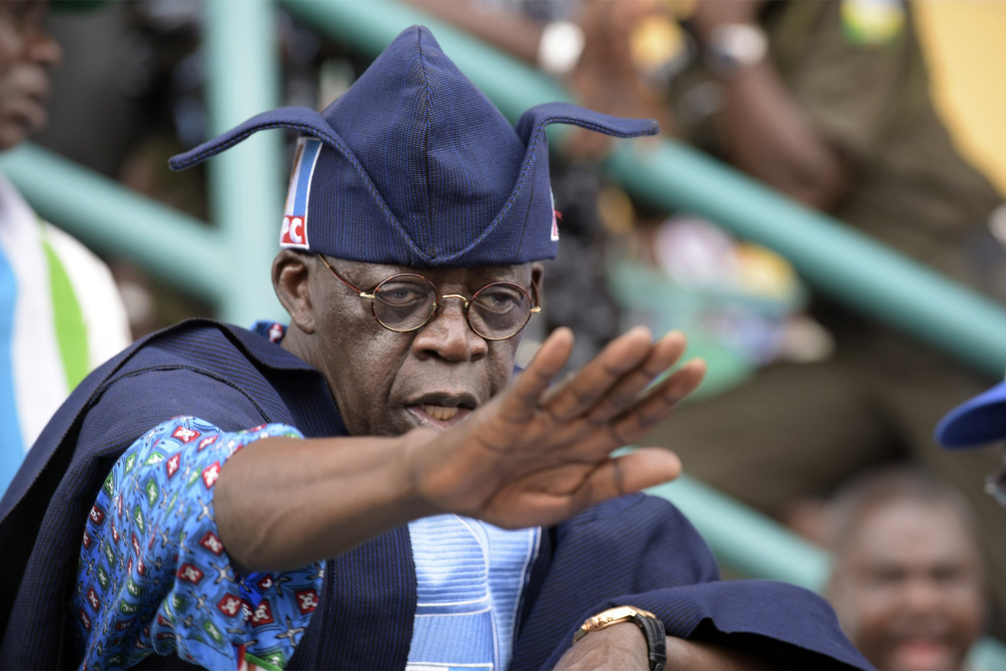 Image result for Tinubu to take up presidency in 2019