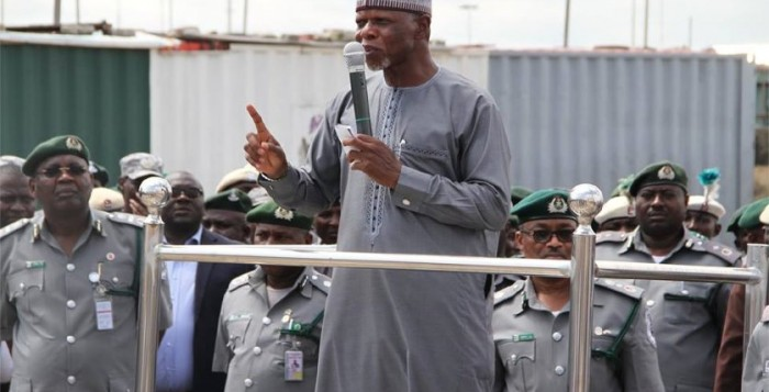 Hameed Ali Comptoller-General of Nigeria Customs Service, Hamid Ali