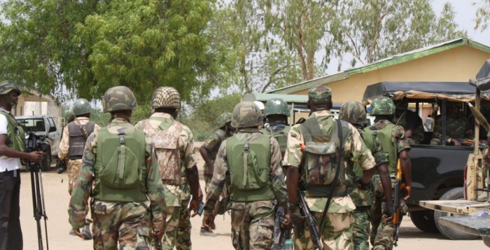 rivers troops soldiers army boko haram pastor