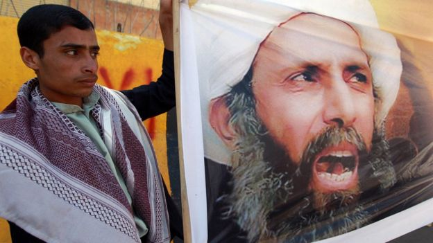 News of Sheikh Nimr's execution prompted an angry response from Shia authorities | AFP