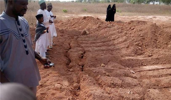 The alleged mass grave location | FARS