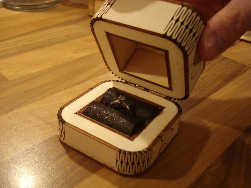 Borderlands Wedding Ring Case