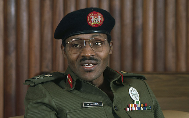 ca. 1983-1985, Nigeria --- General Muhammadu Buhari of Nigeria | William Campbell/Sygma/Corbis