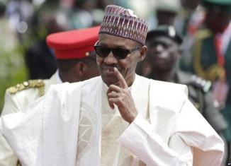 Biafrans Nigeria's President Muhammadu Buhari