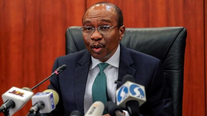 CBN Godwin Emefiele, the governor of the Central Bank of Nigeria