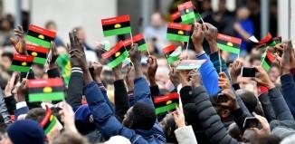 rising sun Nigeria IPOB Pro Biafra, Nnamdi Kanu, Biafra, Intersociety, Muhammadu Buhari, Nigeria