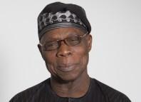 Church Former President Olusegun Obasanjo