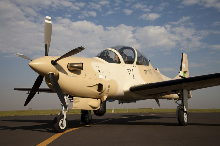 A A-29 Super Tucano Boko Haram
