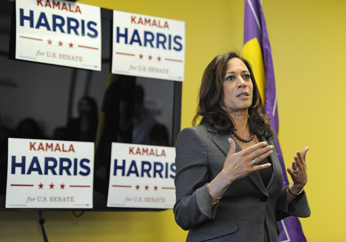 Kamala Harris campaign hosts a meet and greet at SEIU Local 721 in Riverside on Sunday February 21, 2016.