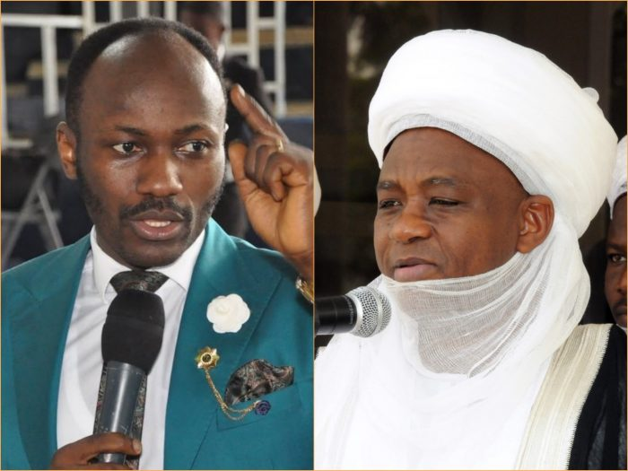 Apostle Johnson Suleman Sultan of Sokoto