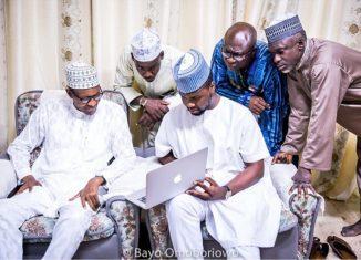 Adebola Williams The Future Awards Buhari