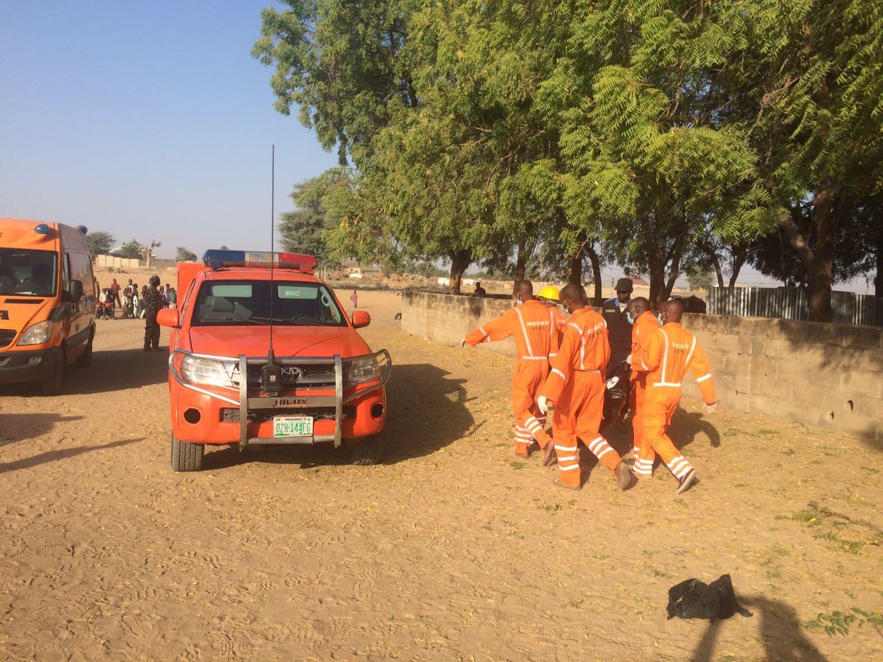 Maiduguri NEMA Officials suicide bombing