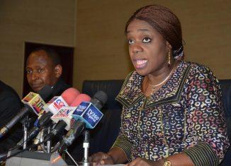 Ekiti Nigeria Finance Minister Kemi Adeosun Economy Recession Muhammadu Buhari