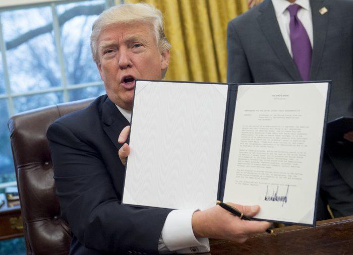 politics donald trump executive orders actions