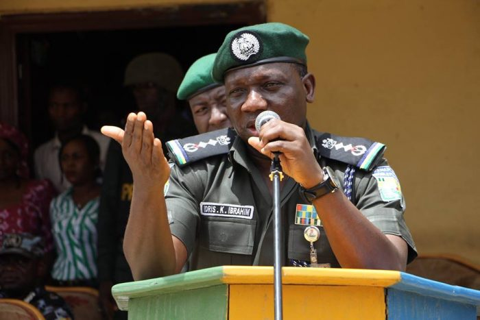 evans Police Anambra Igbos biafra IGP inspector general of police peace corp southern kaduna tuface polce