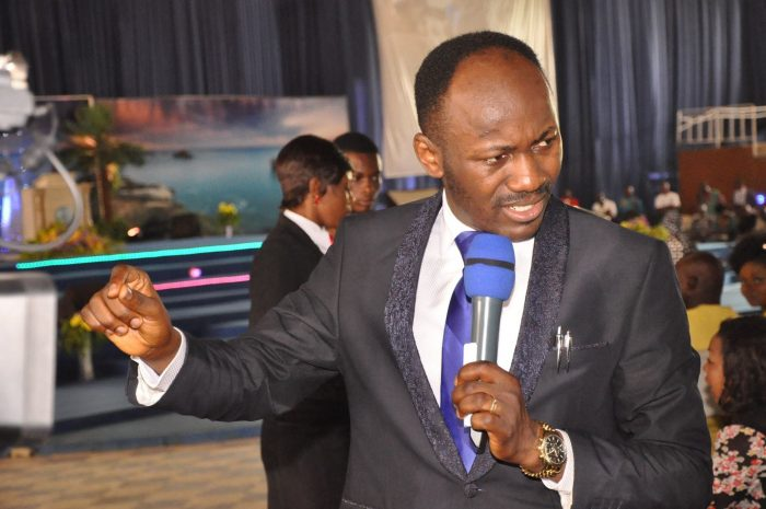 Apostle Johnson Suleman, general overseer of Omega Fire MInistries