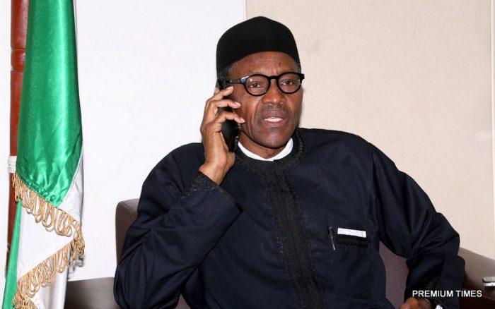 London President Muhammadu Buhari Nigeria
