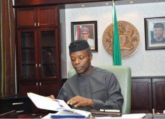 Vice President of Nigeria, Professor Yemi Osinbajo | State House Photo