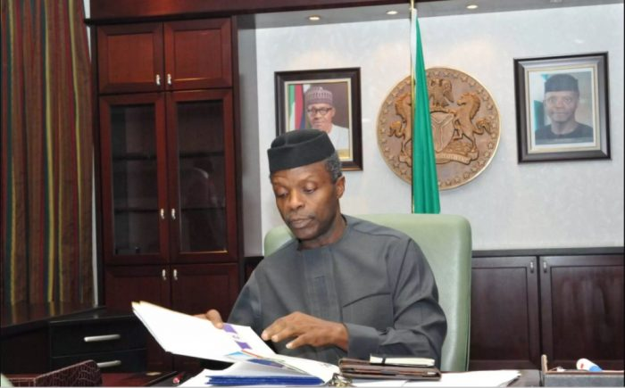 Executive Order Vice President of Nigeria, Professor Yemi Osinbajo | State House Photo