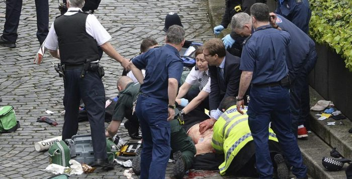 Terrorist Attack at British Parliament