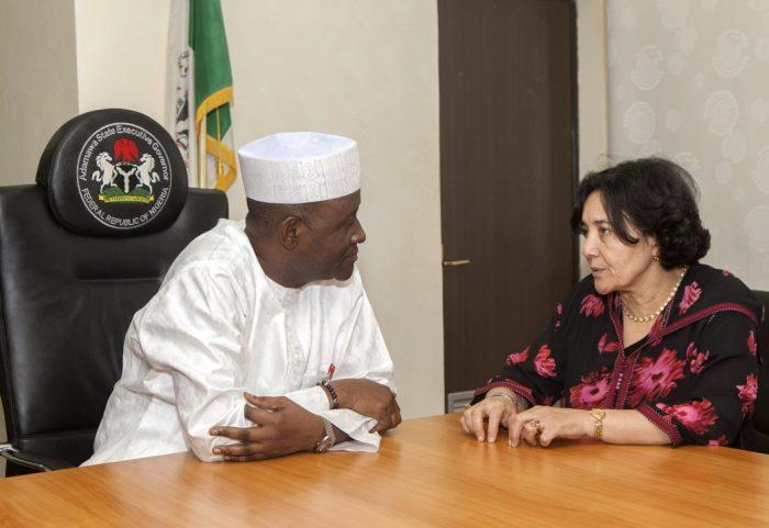 Adamawa Governor Bala James Ngilari