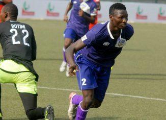 Sikiru Olatunbosun of Mountain of Fire FC